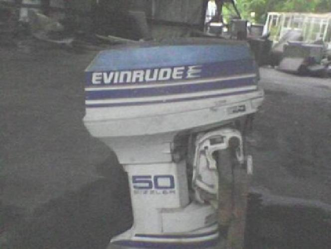 $500 Evinrude Outboard Sizzler 50hp Motor for sale in