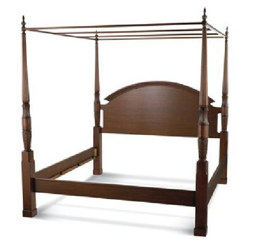 500 herning 4 poster bed queen from bombay co inc for Four poster beds sale