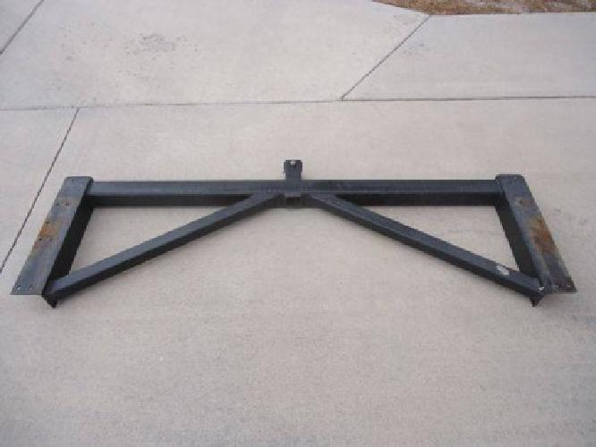 Rv rear trailer hitch