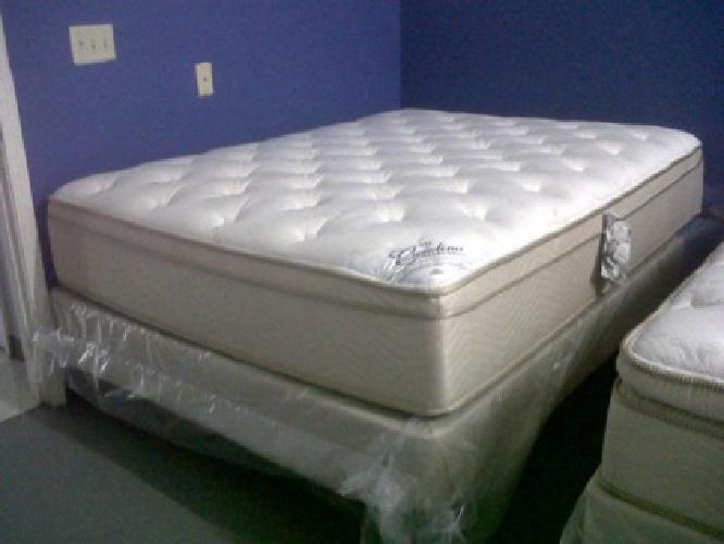$500 Luxury Queen Ptop Mattress Set for sale in Greenville