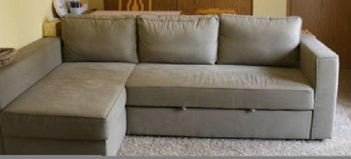 500 manstad ikea couch bed for sale in woodbury new jersey classified. Black Bedroom Furniture Sets. Home Design Ideas