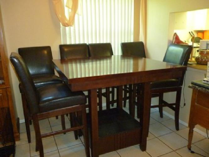 500 obo high top dining room table for sale in sarasota