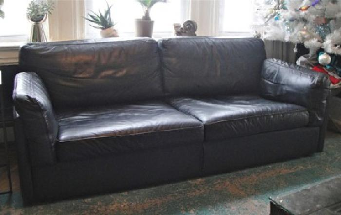 500 Obo Leather Sofa For Sale In Newark New Jersey