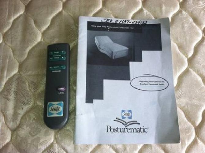 $500 Sealy Posturematic Adjustable Twin Bed
