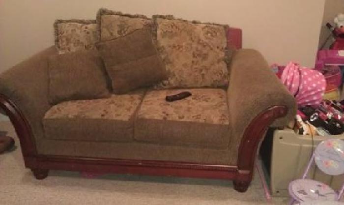 $500 Sofa and Loveseat