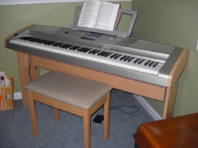 500 yamaha portable grand keyboard dgx 505 for sale in for Yamaha dgx 200 portable grand keyboard