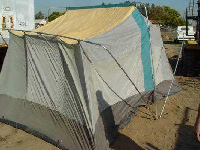 $50 10u0027 X 14u0027 2 Room Timber top Tent & $50 10u0027 X 14u0027 2 Room Timber top Tent for sale in Bloomington ...