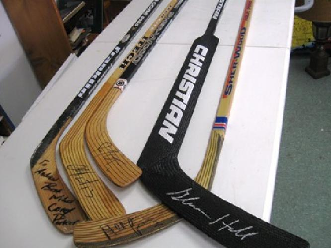 $50 Autographed Hockey Sticks ~ Assorted Players