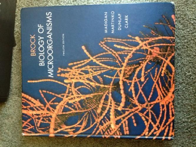 $50 Biology of Microorganisms, 12th edition