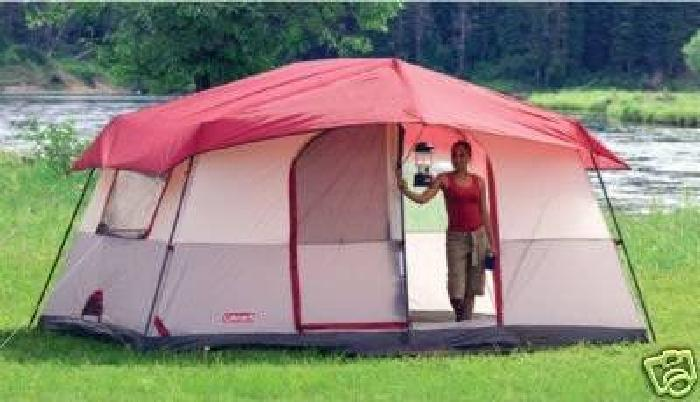 $50 COLEMAN OASIS 2 ROOM CABIN TENT 8 PERSON 14x10 & $50 COLEMAN OASIS 2 ROOM CABIN TENT 8 PERSON 14x10 for sale in ...