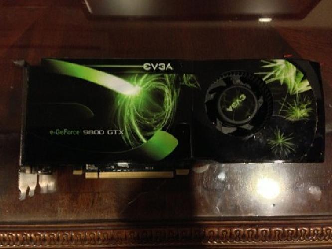 $50 EVGA GeForce 9800 GTX