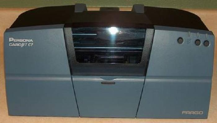 $50 Fargo Persona CardJet C7 Standard Inkjet Photo ID Printer