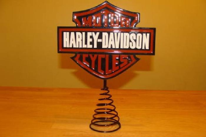 Harley Davidson Christmas Tree Topper For Sale