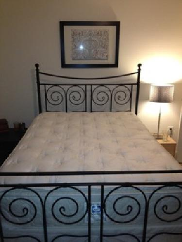 50 Ikea NORESUND Full Size Bed Frame