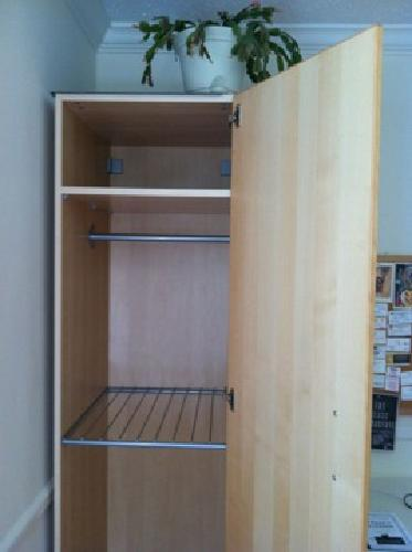 $50 IKEA Wardrobe with Interior Organizers