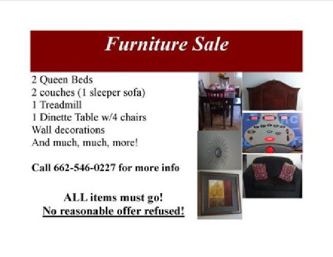 $50 OBO Furniture Sale