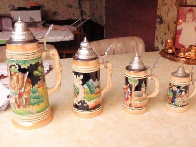 $50 OBO German Beer Mugs