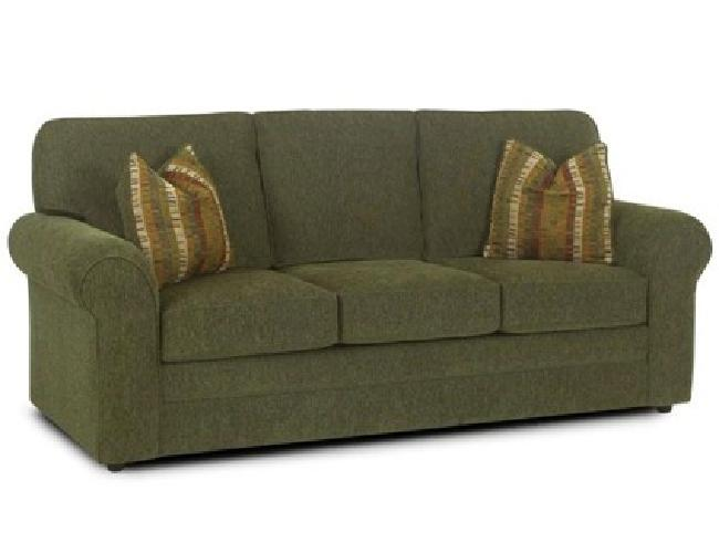 50 obo green sofa and matching pillows for sale in trinity florida classified. Black Bedroom Furniture Sets. Home Design Ideas