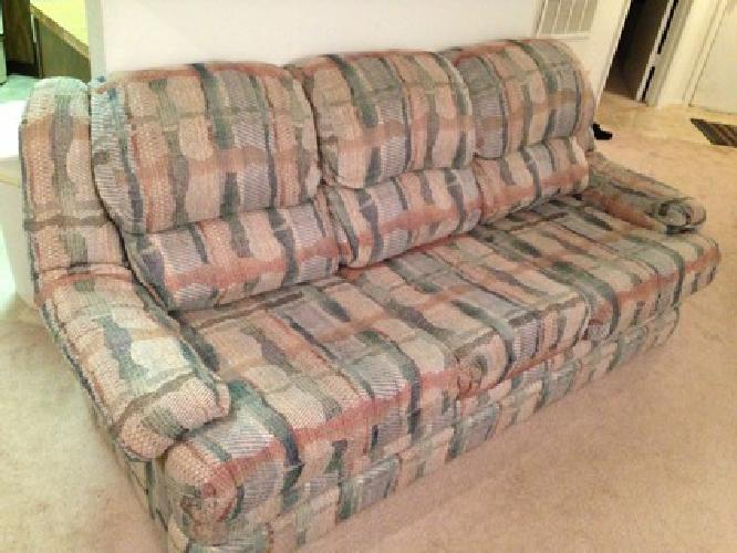 50 Obo Multi Color Hide A Bed Couch For Sale In Mission Kansas Classified