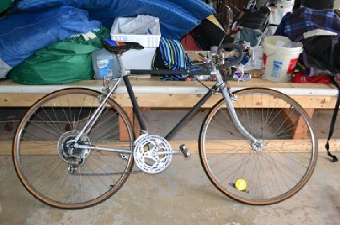 $50 Old school Steal Framed Bike