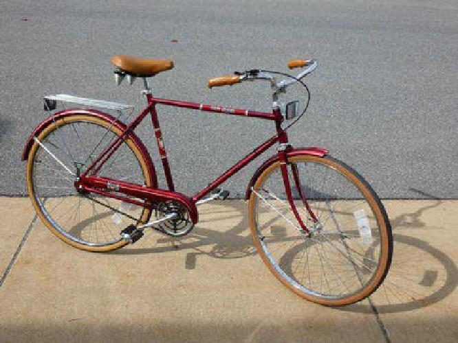 50 Vintage Sears Free Spirit 26 Men S 3 Speed Red Bicycle