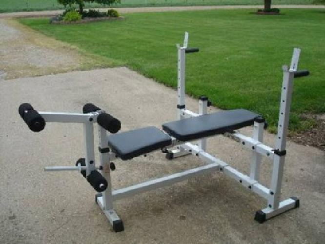 50 Weight Bench Olympic Size For Sale In Indianapolis Indiana Classified