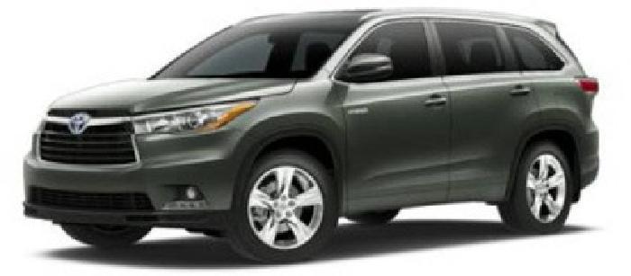 $51,370 2014 Toyota Highlander Hybrid 4WD 4dr Limited Platinum