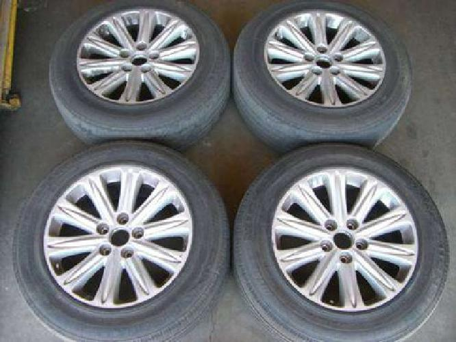 520 05 09 honda odyssey rims w run flat pax tires for. Black Bedroom Furniture Sets. Home Design Ideas