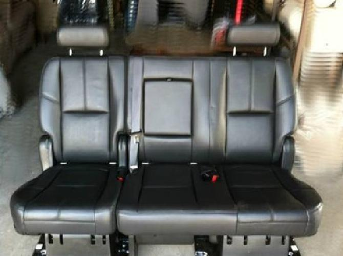 525 2007 2012 2nd Row Black Leather Bench Seat For Yukon