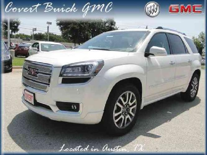 52 835 2014 gmc acadia denali for sale in austin texas classified. Black Bedroom Furniture Sets. Home Design Ideas