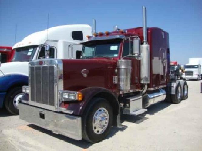 $54,900 2005 PETERBILT 379 EXHOOD Tandem Axle Sleeper