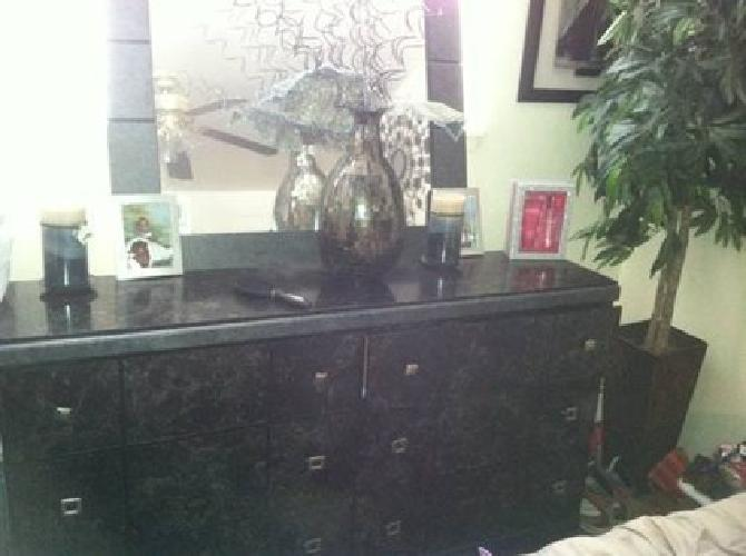 550 5 Piece Black Marble Bedroom Set For Sale In Asbury Park New Jersey Classified
