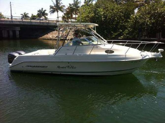$55,000 2005 Aquasport 275 Explorer - Twin Yamaha 225 4