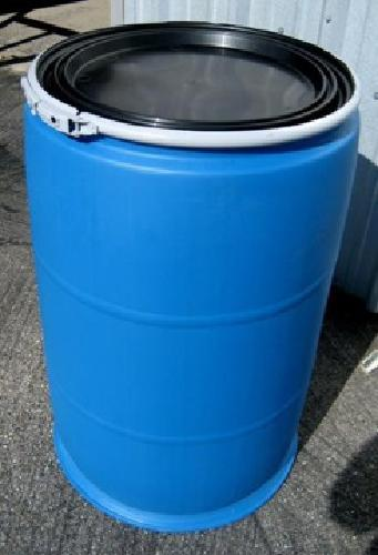 55 Gallon Plastic Drums With Removeable Lids