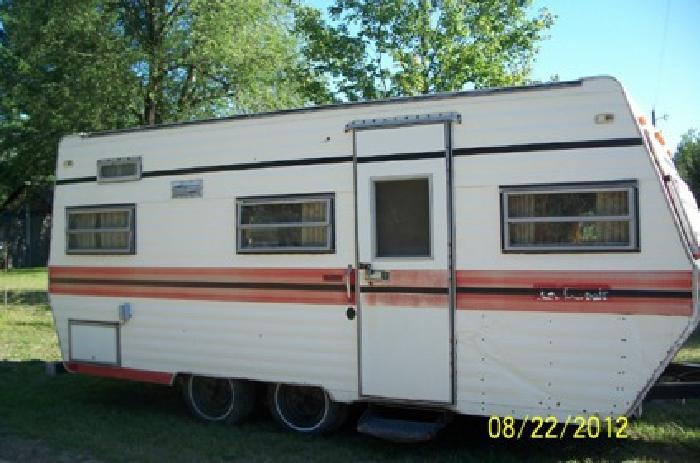 580 obo pull behind camper for sale in hesperia michigan classified. Black Bedroom Furniture Sets. Home Design Ideas