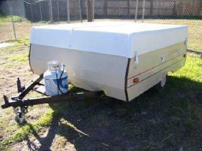 595 Remodeled Old Pop Up Camper Trailer Like Newstove Sink