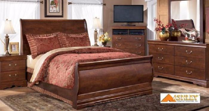 599 Brand New Sleigh Bedroom Set In Boxes From Ashley Factory For Sale In Montgomery Alabama