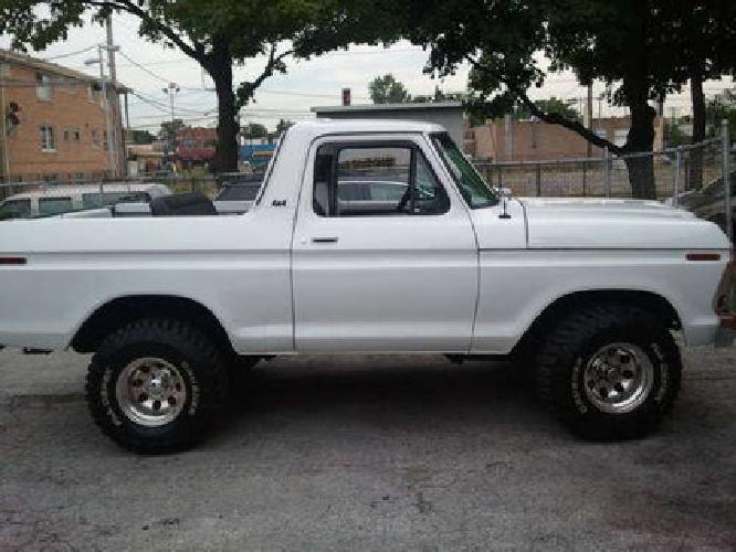 0001978 ford bronco convertible must sell for sale in chicago. Cars Review. Best American Auto & Cars Review