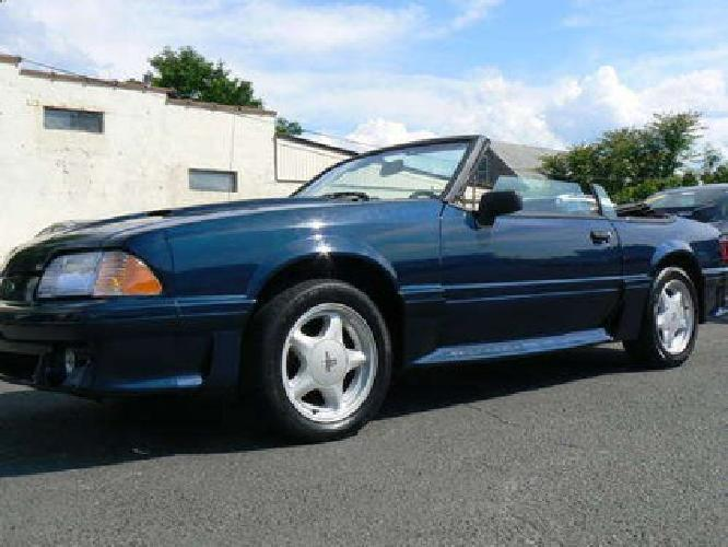 $5,000 1988 Ford Mustang GT Convertible