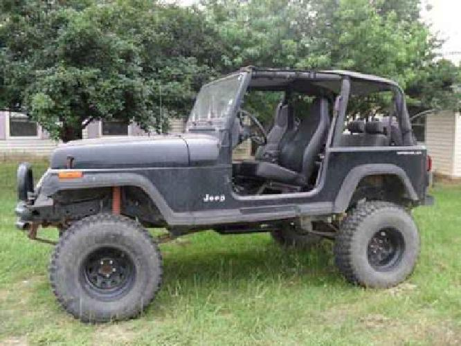 5 000 1995 jeep wrangler se spt 4x4 with lift kit for sale in thornton texas classified. Black Bedroom Furniture Sets. Home Design Ideas