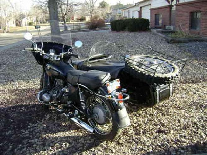$5,000 1999 Ural Tourist-650cc-5000Miles-Never Laid Down.Very New