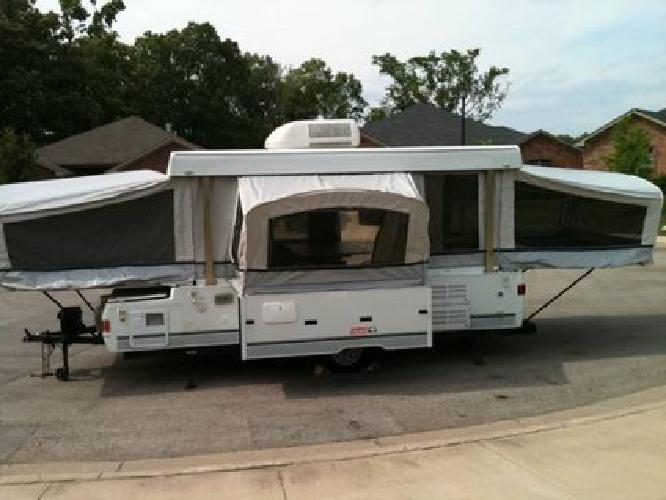 5 000 2003 Coleman Utah Pop Up Camper For Sale In Tyler