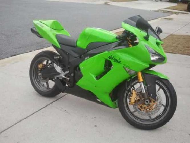 5 000 2005 Kawasaki Zx6r Green For Sale In Atlanta