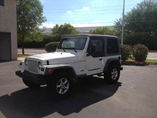 5 000 obo 1997 jeep wrangler white for sale in scottsdale arizona classified. Black Bedroom Furniture Sets. Home Design Ideas