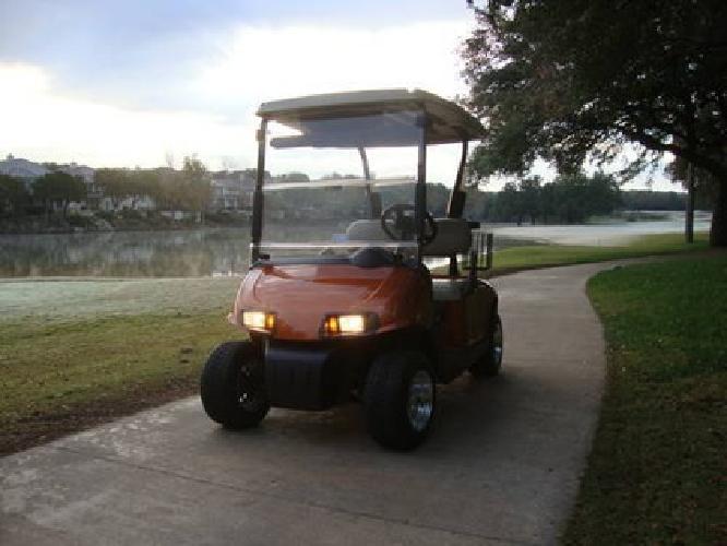 5 100 2010 Ez Go Rxv Custom Golf Cart For Sale In Austin