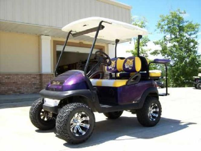 Lsu Car Decals 5,100 Custom LSU GOLF CART Club Car Precedent for sale in Baton Rouge ...
