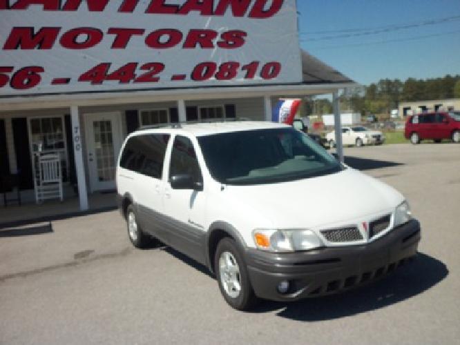 $5,400 2003 Pontiac Montana Low Mileage