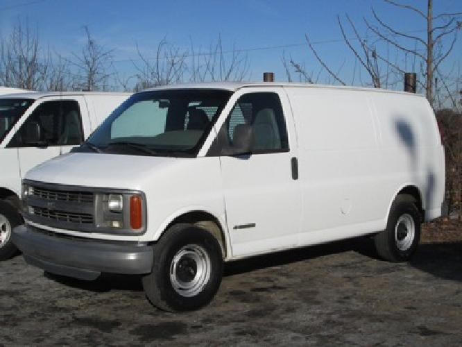 $5,400 OBO 2001 Chevrolet 3500 Express Cargo Van for sale ...