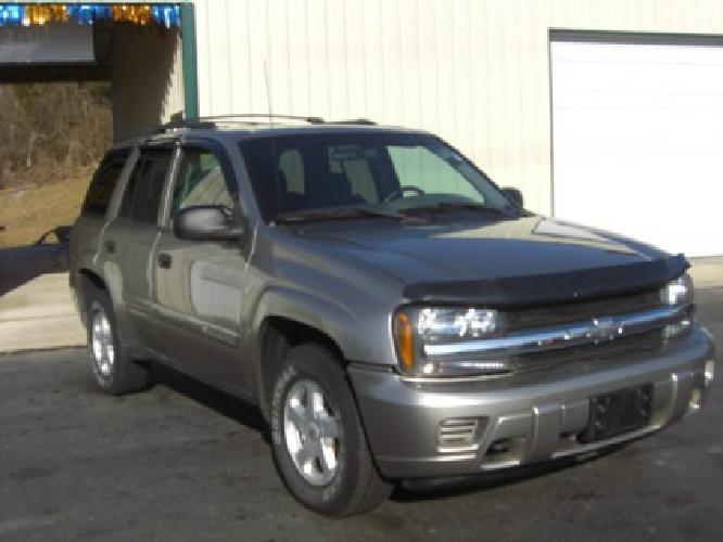 $5,495 2002 Chevy Trailblazer