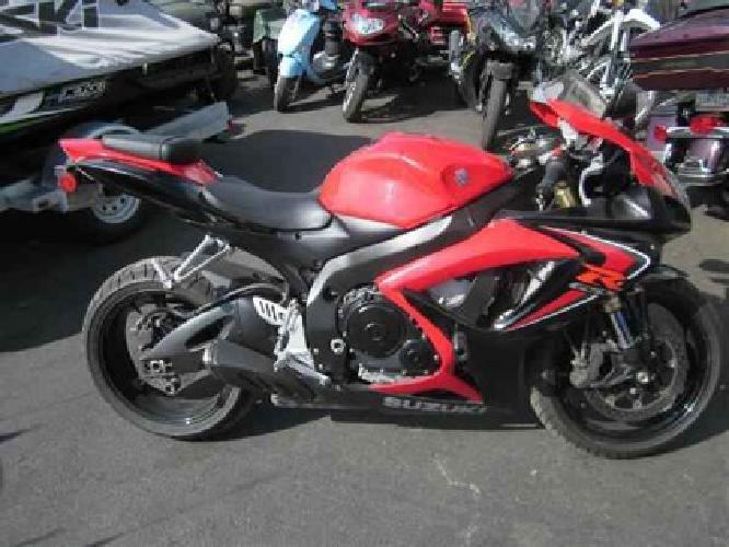 $5,499 2006 Suzuki GSX-R600 -